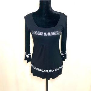 Dolce & Gabbana Logo Blouse!